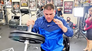 ANDY RUIZ JR IN BEST SHAPE EVER! MOTIVATED TO BE HEAVYWEIGHT CHAMPION ONCE MORE!