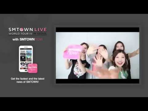 SMTOWN LIVE WORLD TOUR IV in SEOUL with SMTOWNNOW Greetings from #REDVELVET