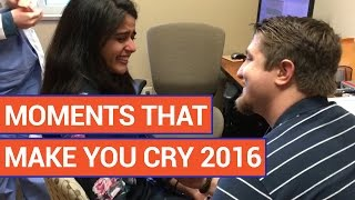 Amazing Moments That Will Make You Cry Video Compilation 2016