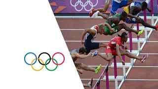 Athletics Men's 110m Hurdles Semi-Finals - Full Replay | London 2012 Olympics