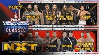 WWE Reveals Full 2020 Dusty Rhodes Classic Brackets