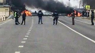 Взрыв на Джемикентском посту ГИБДД (Дагестан)