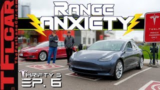 Does Keeping A Tesla Charged Suck? Here's what it's Like to Live With a New Model 3! Thrifty 3 Ep. 6