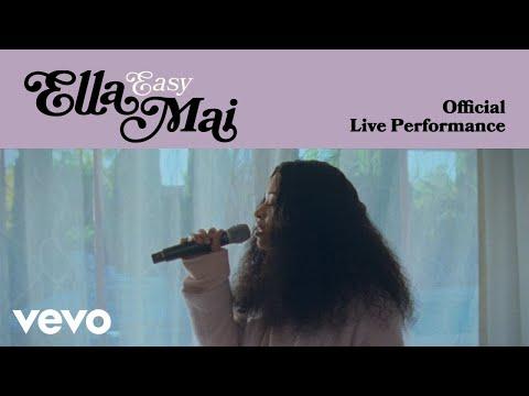 Ella Mai - Easy (Official Live Performance) | Vevo LIFT