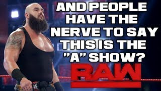 WWE Raw Nov. 19, 2018 Full Show Review & Results: BRAUN STROWMAN SHATTERS HIS ELBOW BEFORE TLC