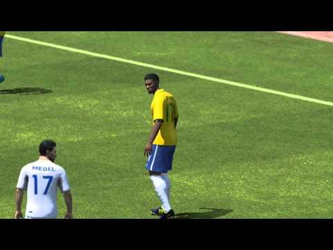 Brazil vs Chile FIFA WORLD CUP 2014 Round of 16