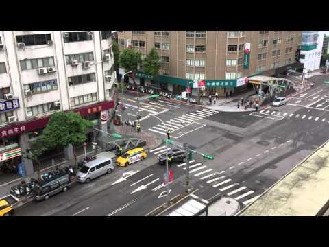 萬安演習台北街道淨空
