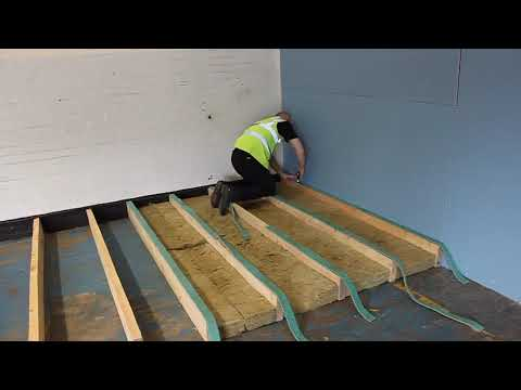 Hush 10 Joist Strips From Acoustics Can Be Used Only With Panel 28 32 And Ply Floating Floor Systems To Enable The Panels