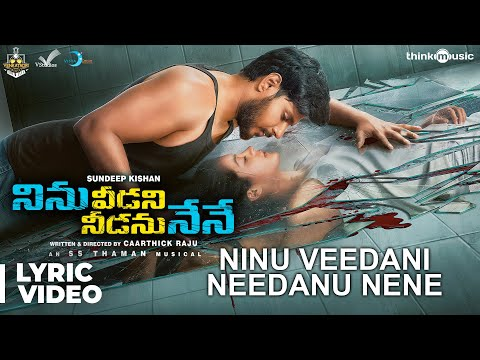 Ninu Veedani Needanu Nene- song lyric- Sundeep Kishan, Anya Singh