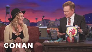 Conan Reveals Jamie Anderson's Kellogg's Cereal Box  - CONAN on TBS