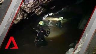 Thai cave rescue: The narrow, flooded passageways of Tham Luang cave complex