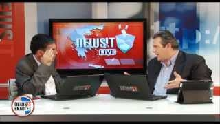Ο Πάνος Καμμένος στο Newsit του Νίκου Ευαγγελάτου 24-4-2012