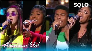 FOUR Contestants Pick The SAME Song For solor oung Performace! Which One Did it BEST?