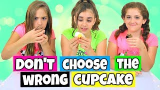Don't Choose The Wrong Cupcake Challenge!