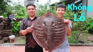 Hữu Bộ | Cá Đuối Khổng Lồ Nướng Siêu Cay | Grilled Giant Ray