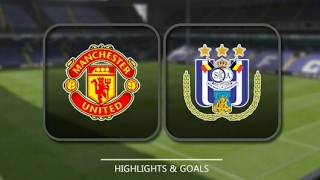 Manchester United Vs Anderlecht 2-1|20 April 2017 Highlights|