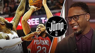 Tracy McGrady Got Anthony Davis Second On His MVP List Over LeBron James | The Jump
