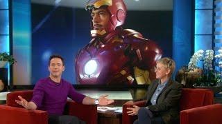 AMC Movie Talk – Robert Downey Jr Confirms IRON MAN 4! Wait, No He Didn't!