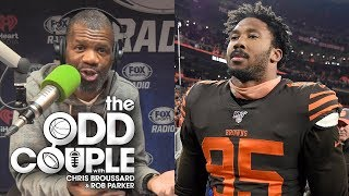 Myles Garrett Doesn't Deserve The Benefit of the Doubt - Rob Parker