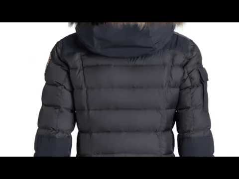 2b91fc111a ... Parajumpers Skimaster Womens Ski Jacket in Navy Play. ‹