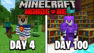 I Survived 100 Days in Hardcore Minecraft and Here's What Happened