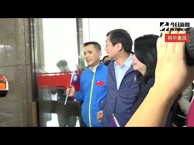 直播/藍綠交鋒!國民黨和台聯10:30同時登記不分區立委