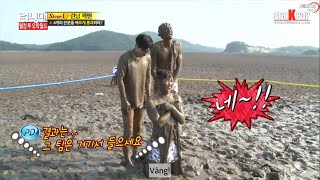 Các Trận Chiến Bùn Lầy Lầy Nhất Running Man
