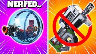RIP COMPACT SMG, BALLER NERF and Tactical Assault Rifle (Fortnite Patch Notes v9.01)