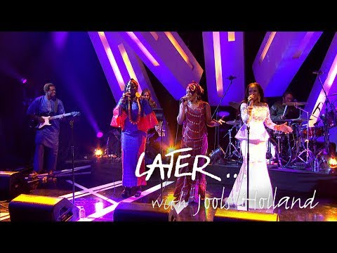 (UK TV debut) Supergroup Les Amazones d'Afrique perform Doona on Later... with Jools