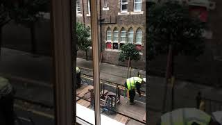 15/10/2018 Noise and workers from the construction right in front of the windows