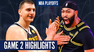 NUGGETS vs LAKERS GAME 2 - Full Highlights | 2020 NBA Playoffs