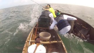 Fishing For Sharks In A Boat That's Too Small