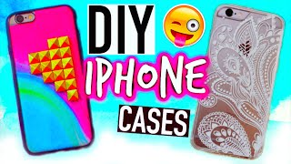 DIY Phone cases: Tumblr inspired