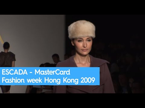 ESCADA - MasterCard Fashion week Hong Kong 2009