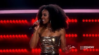 Kelly Rowland's Vocal Range on The Voice (Bb2-Bb5-A6)