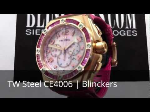 Horloge productvideo TW Steel CE4006 | Kelly Rowland | Blinckers.com