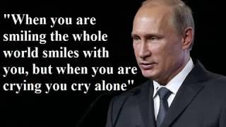 Vladimir Putin's 50 Most Famous Jokes and Citations