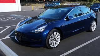 """Tesla Model 3 """"unboxing"""" (delivery)"""