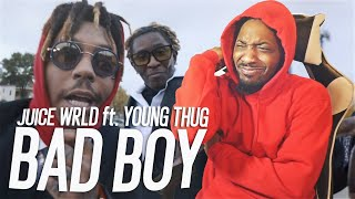 JUICE LAST MUSIC VIDEO! 😢 | Juice WRLD - Bad Boy ft. Young Thug (REACTION!!!)