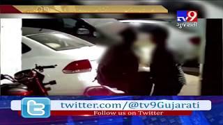 Ahmedabad: Video showing gang of kids stealing petrol from car near Jamalpur goes viral- Tv9