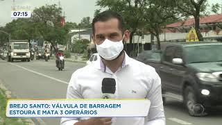 Acidente em barragem deixa três operários mortos em Brejo Santo