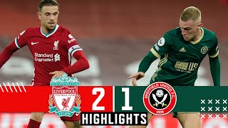 Liverpool 2-1 Sheffield United   Premier League Highlights   Firmino and Jota Goals & Berge penalty
