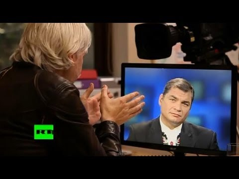 The Julian Assange Show: Rafael Correa (E6)
