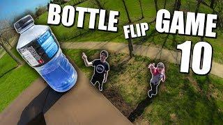 CRAZY Game of BOTTLE FLIP! | Round 10