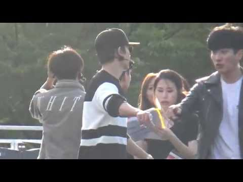 151004 Super Junior D&E rehearsal - 촉이와 & Motorcycle & I Wanna Dance
