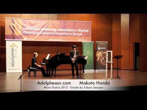 Makoto Hondo - Nova Gorica 2013 - Sonate by Edison Denisov