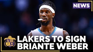 Lakers To Sign Point Guard Briante Weber