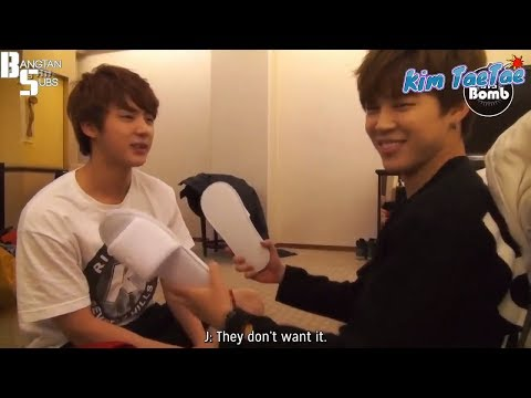 When Jin (BTS) become the victim of his Maknaes#PoorJin