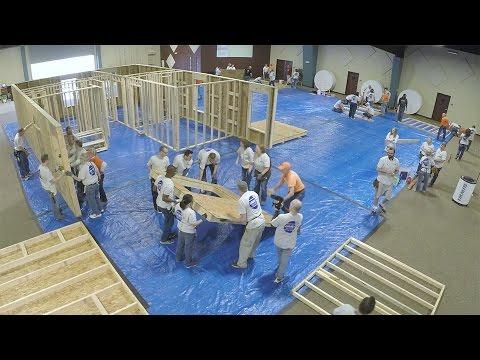 IMMI Habitat for Humanity Panel Build