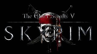 Skyrim Main Theme & He's a Pirate | Mashup